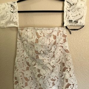 NWT Pretty little thing cap sleeve dress, size 16